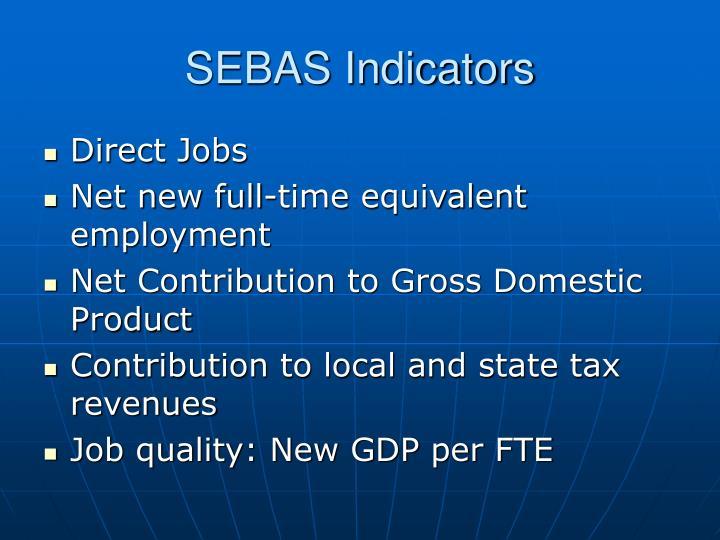 SEBAS Indicators