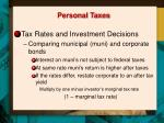 personal taxes1
