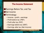 the income statement1
