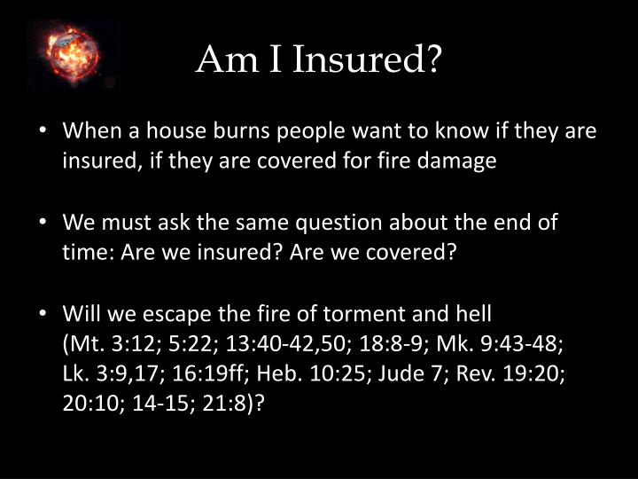 Am I Insured?