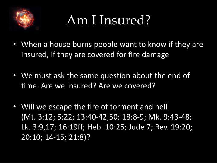 Am I Insured?