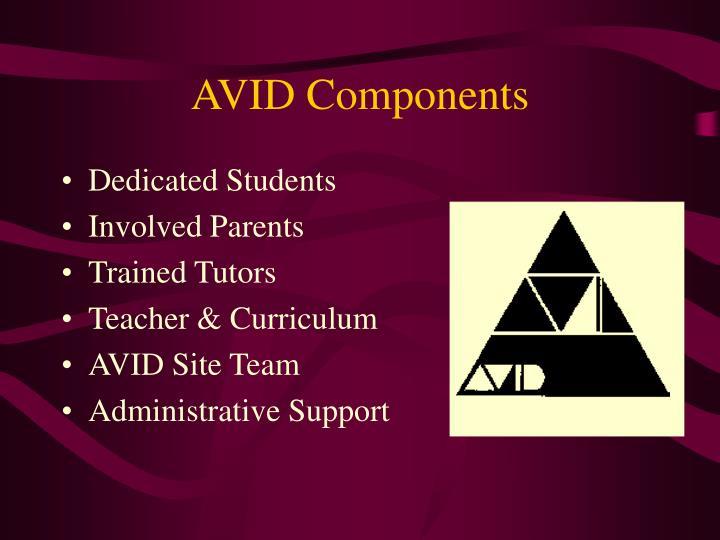 AVID Components