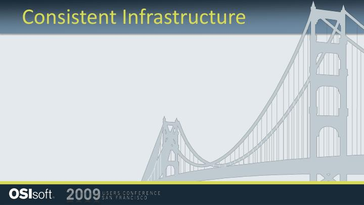 Consistent Infrastructure