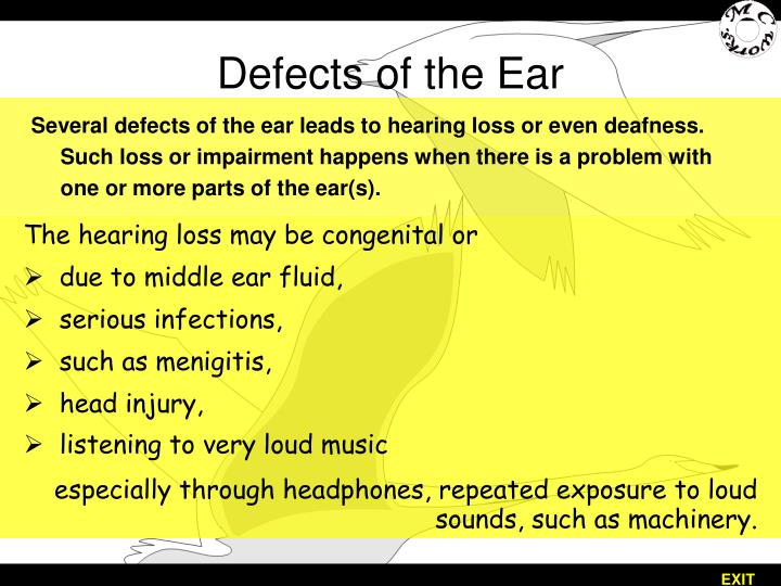 Defects of the Ear