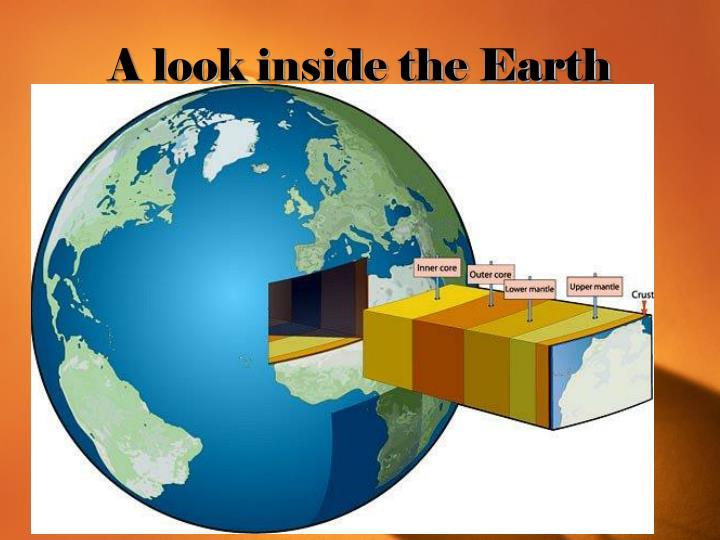A look inside the Earth