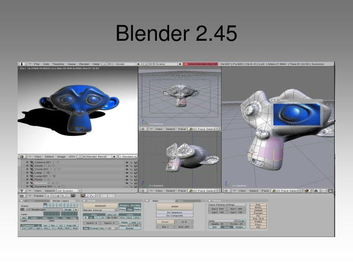 Blender 2.45