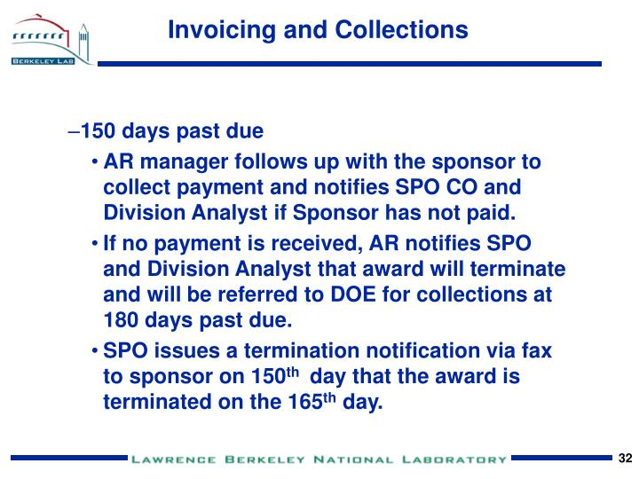 Invoicing and Collections