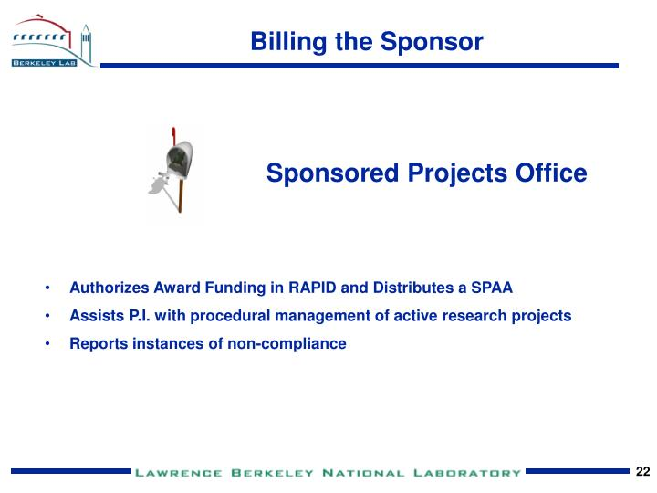 Sponsored Projects Office