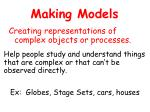making models