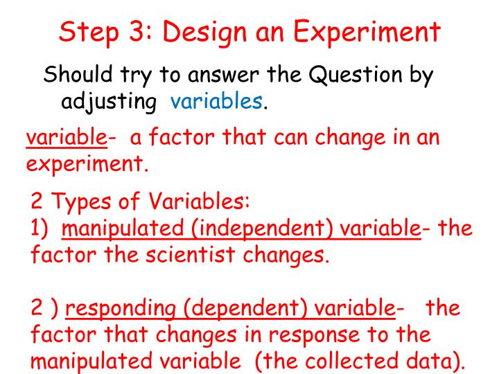 Step 3: Design