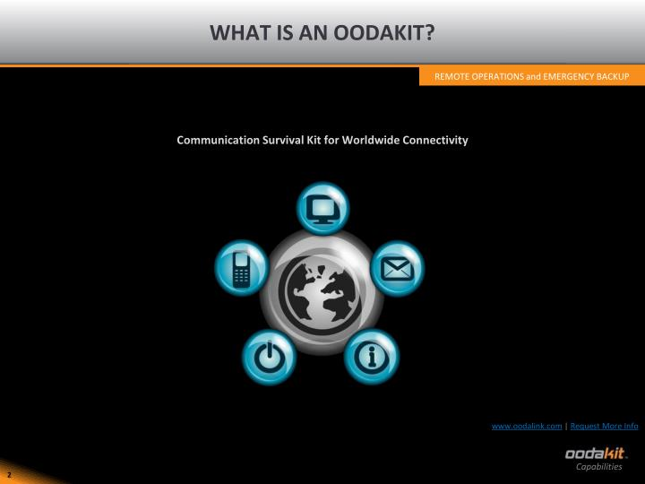 What is an oodakit
