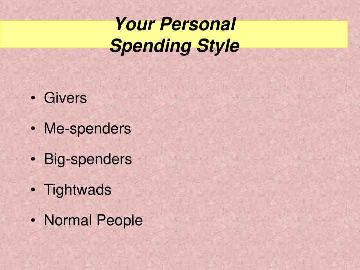 Your Personal