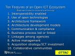 ten features of an open ict ecosystem berkman center for internet and society