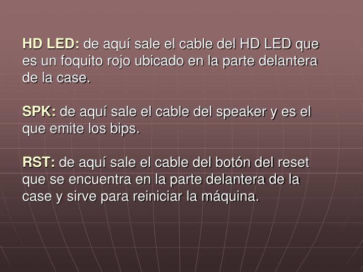 HD LED: