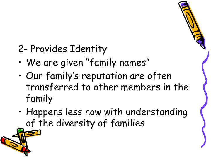 2- Provides Identity