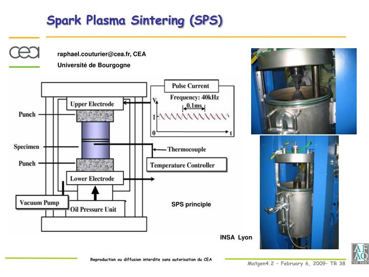 Spark Plasma Sintering (SPS)