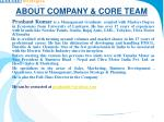 about company core team1