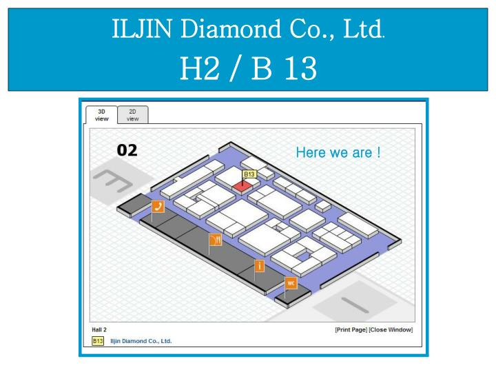 ILJIN Diamond Co., Ltd