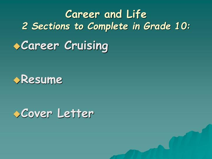 Career and Life