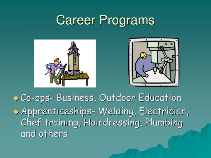 Career Programs