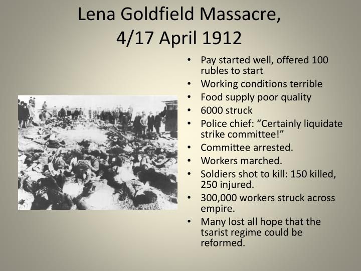 Lena Goldfield Massacre,