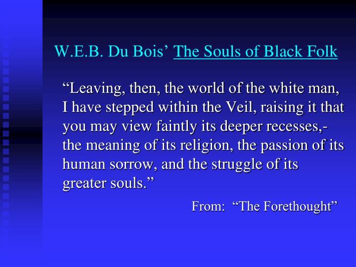 W.E.B. Du Bois'