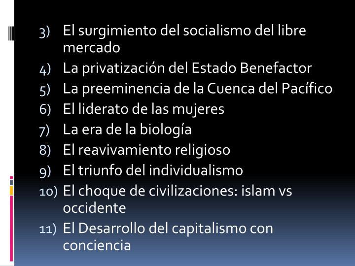 El surgimiento del socialismo del libre mercado