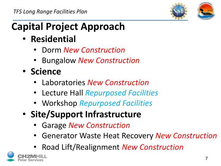 TFS Long Range Facilities Plan