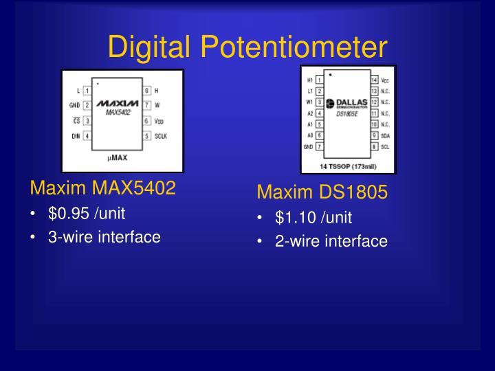 Maxim MAX5402