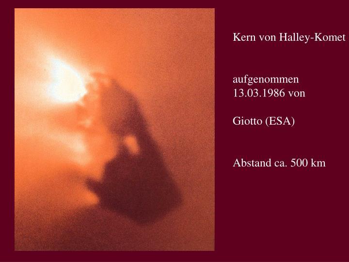 Kern von Halley-Komet