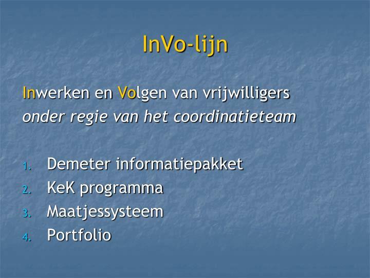 InVo-lijn