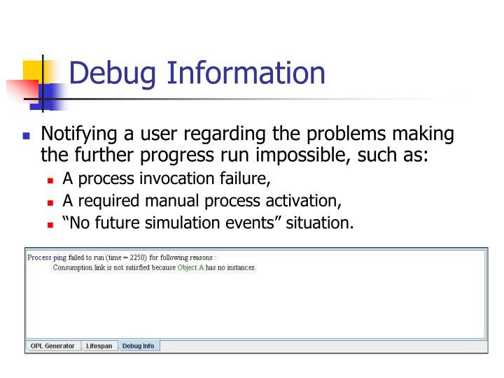 Debug Information