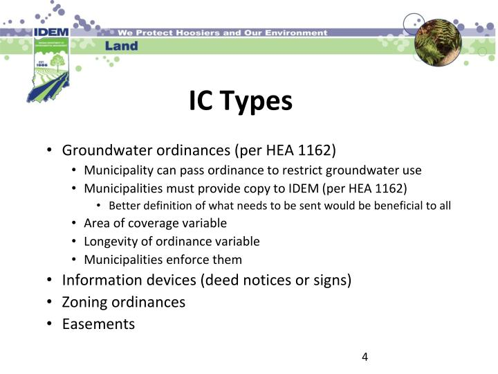 Groundwater ordinances (per HEA 1162)