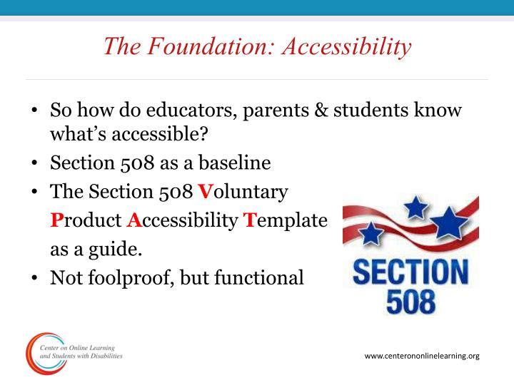 The Foundation: Accessibility