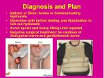diagnosis and plan