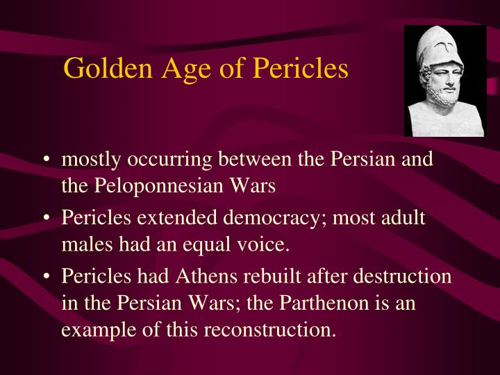 Golden Age of Pericles