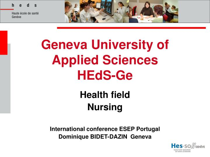 Geneva University of Applied Sciences