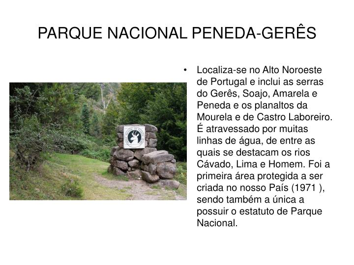 PARQUE NACIONAL PENEDA-GERÊS