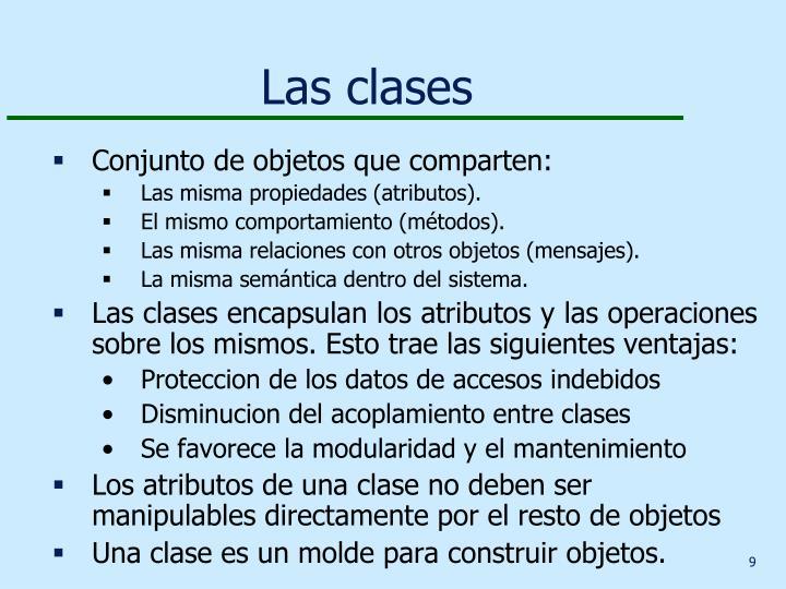 Las clases