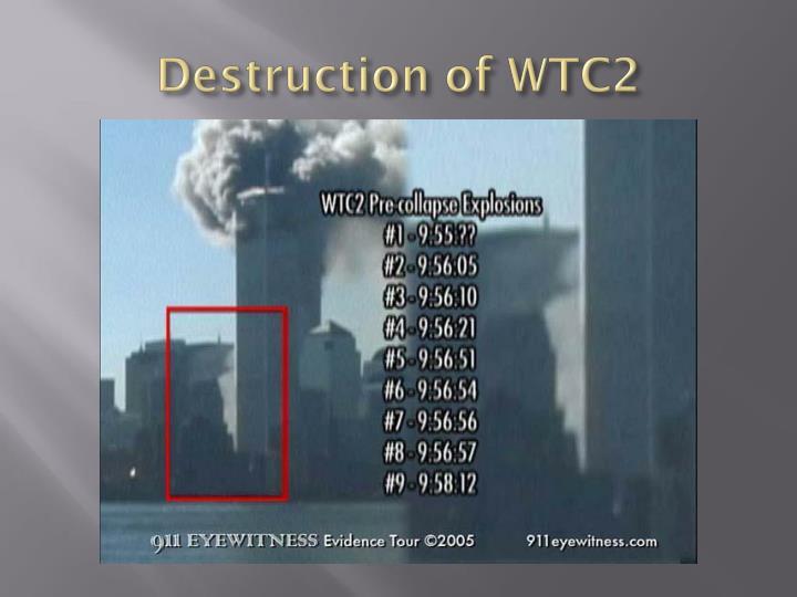 Destruction of WTC2