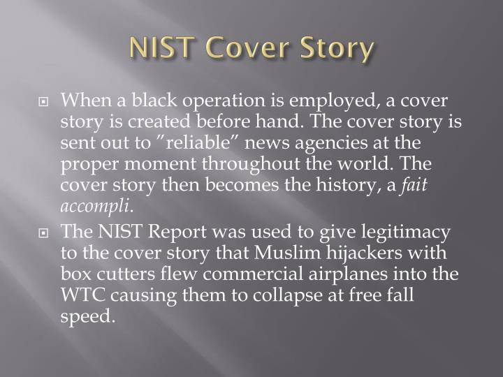 NIST Cover Story