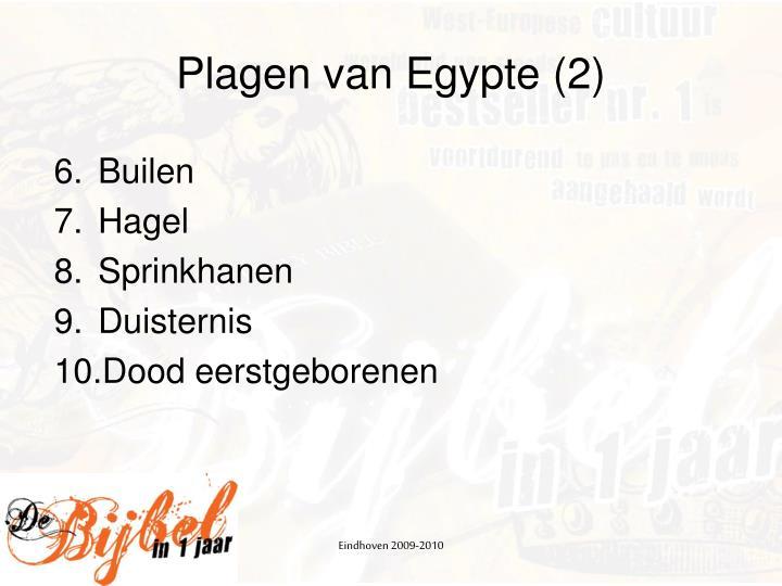 Plagen van Egypte (2)
