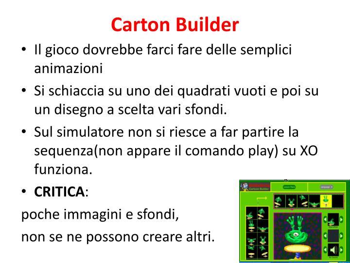 Carton Builder