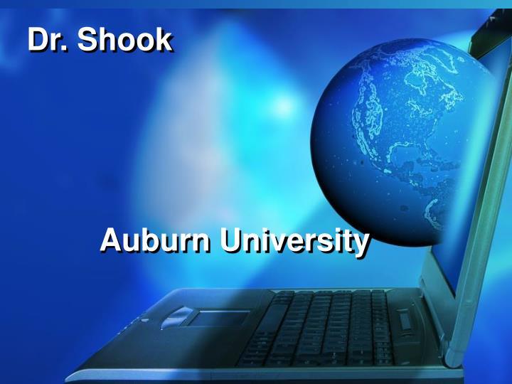 Dr. Shook