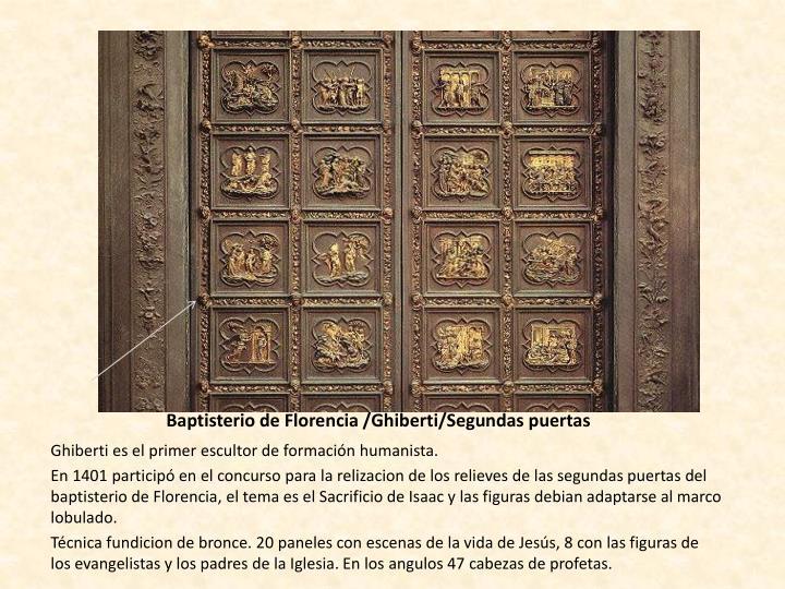 Baptisterio de Florencia /