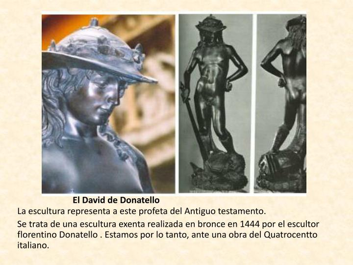 El David de Donatello