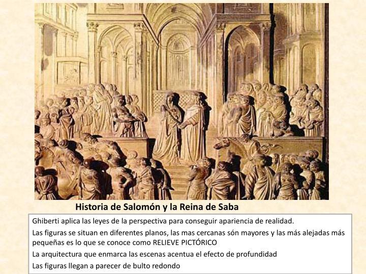 Historia de Salomón y la Reina de