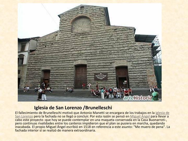 Iglesia de San Lorenzo /