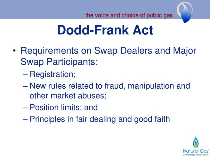 Summary of the Dodd-Frank Act: Swaps and Derivatives