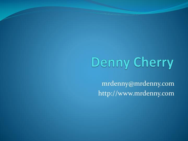 Denny Cherry